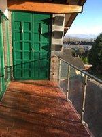 Balkon mit Abstellkammer,