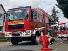 © Feuerwehr Dresden Die Stadtteilfeuerwehr Niedersedlitz traf zuerst an der Einsatzstelle ein und leitete die Brandbekämpfung ein.