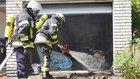 Brandbekämpfung (Foto: Feuerwehr Celle)