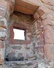 Sicherung entfernt, Risse im Sandsteinsturz