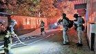 Kräfte der Bundespolizei und der Feuerwehr im Einsatz (Foto: Feuerwehr Celle)