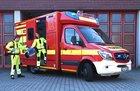 Die Berufsfeuerwehr München bildet Notfallsanitäterinnen und Notfallsanitäter aus
