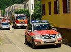 Die Feuerwehren kehren zurück. Eine redaktionelle Verwendung der Bilder nur unter der Nennung der vollen Bildquelle. Quelle: © Kreisfeuerwehrverband Calw | Udo Zink
