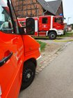 Stallbrand Feuerwehr Lügde