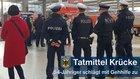 Mit seiner Gehhilfe schlug ein 54-Jähriger auf zwei Personen im Hauptbahnhof München ein.