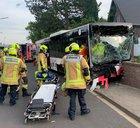 Verkehrsunfall mit Bus