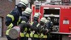 Bei der praktischen Prüfung (Foto: Feuerwehr Celle)