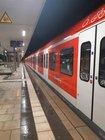 Durch die geworfenen Schottersteine kam es auch zu Beschädigungen an einer S-Bahn.