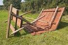 Bild der beschädigten Waldschänke