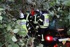 Bild während der Rettungs des Verunfallten.  Foto: Gemeindepressesprecher
