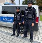 Greifswalder Polizisten mit Bodycams
