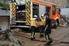 Feuerwehren im Arbeitseinsatz. Quelle LFV SH