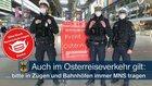 Die Bundespolizei in München bittet alle Reisenden im Oster- wie Ausflugs- und Versammlungsverkehr in Zügen und Bahnhöfen weiterhin die nach Bayerischer Infektionsschutzmaßnahmenverordnung jeweils erforderliche Mund-Nase-Bedeckung zu tragen. Mit der FFP2-Maske schützen Sie nicht nur andere, sondern auch sich selbst! DANKE ...