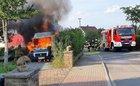 Brand des Wohnmobils Bild: Hans-Georg Höffken
