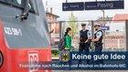 Gegen zwei Polen, die in einem Bahnhofs-WC mit anderen rauchten und Alkohol konsumierten, lagen Festnahmehaftbefehle und Ausweisungsverfügungen vor.