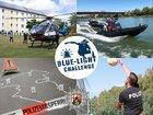 Logo Blue-Light-Challenge Landesfeuerwehrverband RP und Hochschule der Polizei RP