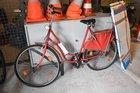 geborgenes Fahrrad