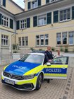 EPHK Werner Steding und Polizeipräsidentin Gwendolin von der Osten im Rahmen der Verabschiedungsveranstaltung