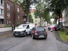 Unfall auf der Georg-Seebeck-Straße in Bremerhaven am 23. September 2021. Foto: Polizei Bremerhaven