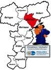 Symbolbild: Eine aktuelle Verkehrsunfallflucht aus Wülfrath beschäftigt die Ermittlerinnen und Ermittler der Direktion Verkehr im Kreis Mettmann
