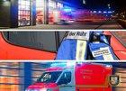 Erhöhtes Einsatzaufkommen für die Feuerwehr Mülheim. Feuerwehrtaucher unterstützen die Feuerwehr in Duisburg.