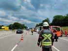 Verkehrsunfall A7 14.07.2021