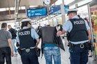 Symbolbild - Festnahme im Bahnhof Fulda; Quelle: Bundespolizei