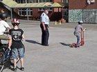 Praktische Fahrübungen auf dem Schulhof (Bild 2)