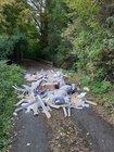Illegale Müllentsorgung Hüddessum