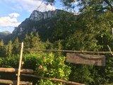 thumbnail - Blick auf die Gedererwand von der Weissenalm aus