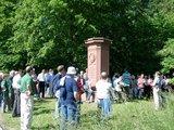 thumbnail - Das Bayern-Denkmal bei Helmstadt erinnert an die Gefallenen der Verlierer des Gefechts von 1866.