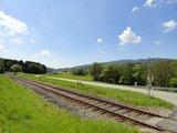 thumbnail - Gleis entlang des Waldbahn-Radweges
