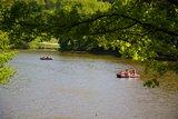 thumbnail - Gries/Pfalz - Ohmbachsee mit Tretbooten