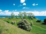 thumbnail - Blick auf das Achterwasser vor der Halbinsel Gnitz