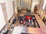 thumbnail - Blick von der Empore in der Ausstellung Brunshausen