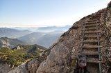 thumbnail - Teil des Klettersteigs