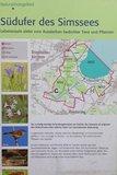 thumbnail - Infotafel Naturschutzgebiet Simssee