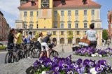 thumbnail - Radelstart auf dem Bautzener Hauptmarkt