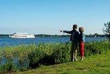 thumbnail - Blick auf Zwischenahner Meer mit der Weissen Flotte im Hintergrund