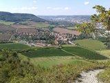 thumbnail - Blick vom Großen Gleisberg nach Kunitz mit Weinberg Grafenberg im Vordergrund