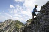 thumbnail - Den Salewa-Klettersteig in Oberjoch fast geschafft