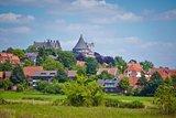 thumbnail - Blick auf Bentheim mit der Burg