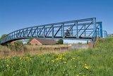 thumbnail - Die schmalste Autobrücke Deutschlands bei Amdorf.