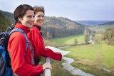 thumbnail - Blick vom Falkenstein übers Eselsburger Tal