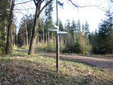 thumbnail - Wegkreuzung an der Bieberer Hütte