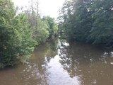 thumbnail - Der Glan von der Brücke aus fotografiert