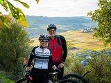 thumbnail - Mountainbiker oberhalb von Kröv