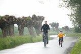 thumbnail - Auch bei Schietwetter macht das Radfahren auf dem Weindentörn Spaß
