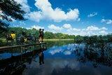thumbnail - Die unzähligen Seen auf dem Weg laden zu einer Rast oder einem kühlenden Bad ein.