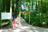 thumbnail - Eingangsportal des Waldsportpfads Fischteiche